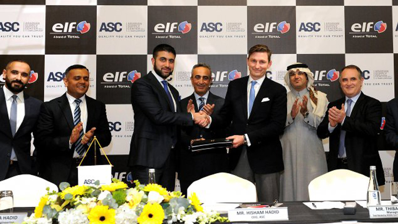 """ELF"" of Total Signs ASC of Al-Jaber Group to be the Official Distributor in Qatar"