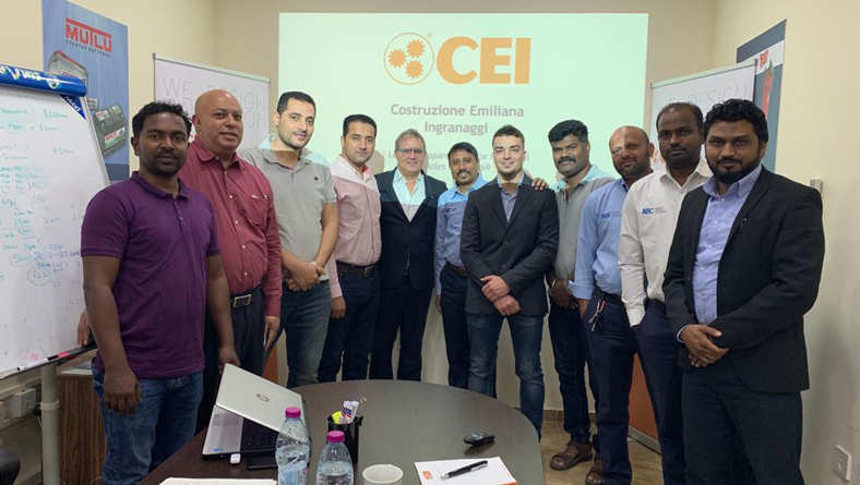 Product & Technical Training on CEI Gear Parts