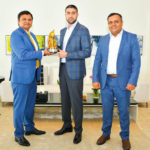 "No. 1 Lubricant Distributor in the middle east award ""ELF-TOTAL"" 2018"