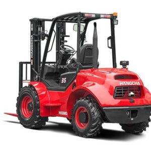 2.5-3.5t Four-Wheel Drive Rough Terrain Forklift Truck