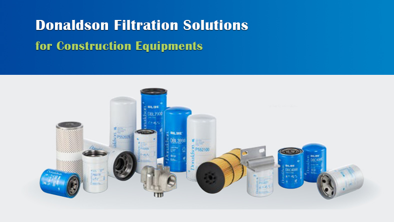 Donaldson Filtration Solutions for Construction Equipments