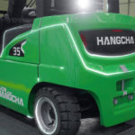 Lithium Ion battery powered electric forklifts